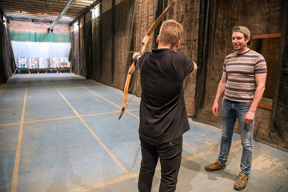 Занятия по стрельбе из лука и арбалета в клубе «Лабиринт» фото 3