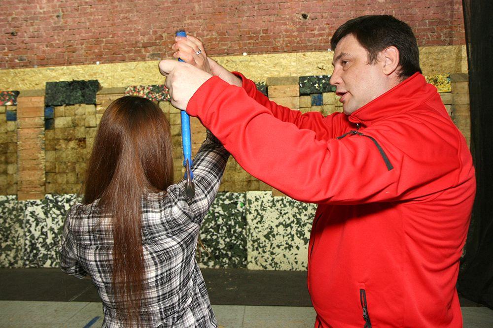 Занятия по метанию ножей в клубе «Лабиринт» фото 3