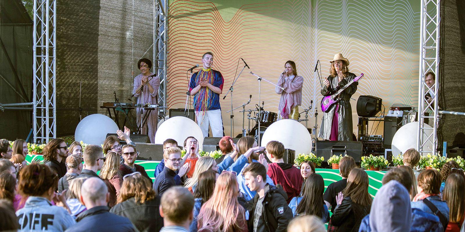 Фестиваль джаза в парке Горького фото 2