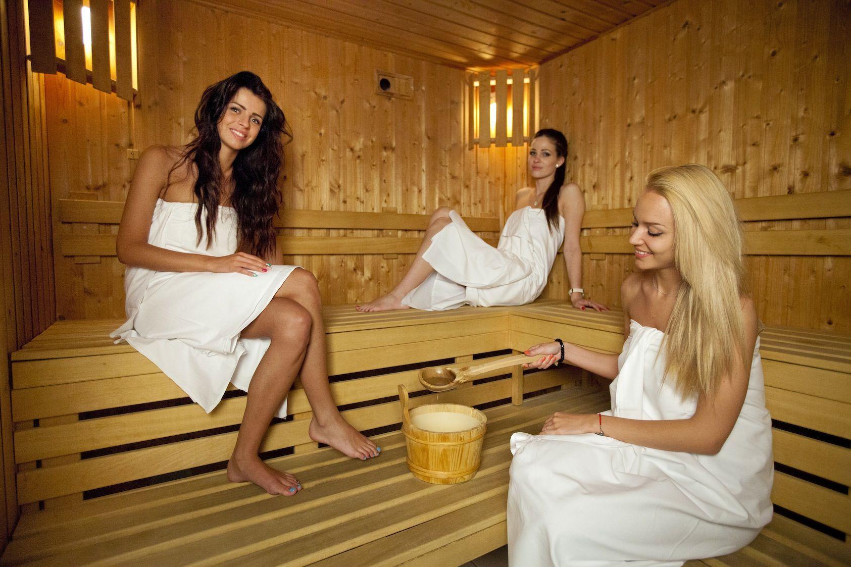 Сауна и девочки москва