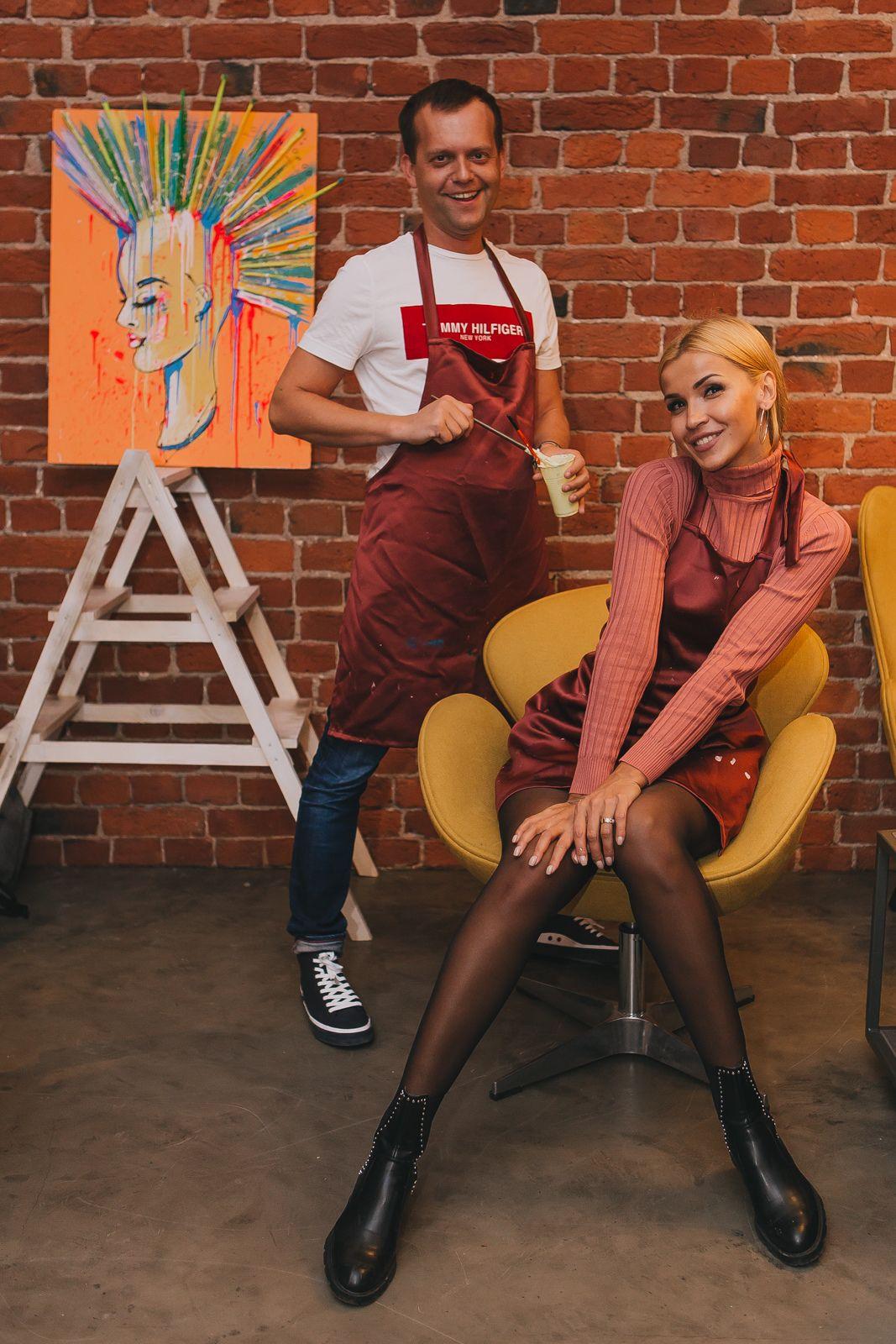 Арт-свидание для двоих в студии рисования и живописи ZuART фото 3