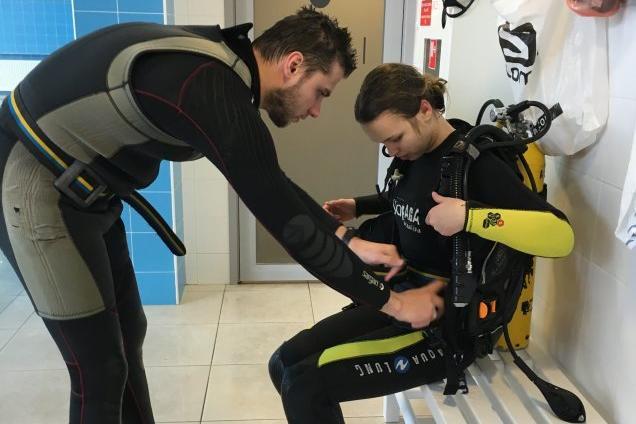 Начальный курс дайвинга Open Water Diver фото 3
