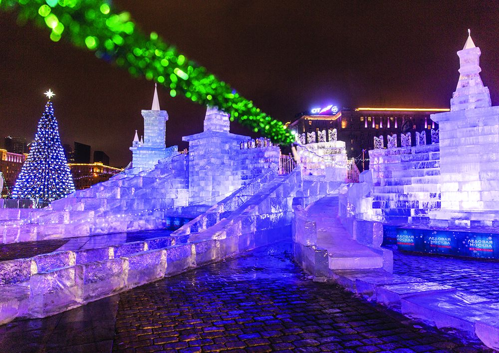 IV Новогодний фестиваль Александра Ковтунца «Ледовая Москва. В кругу семьи» фото 1