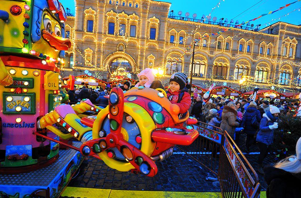 ГУМ-ярмарка на Красной площади фото 2