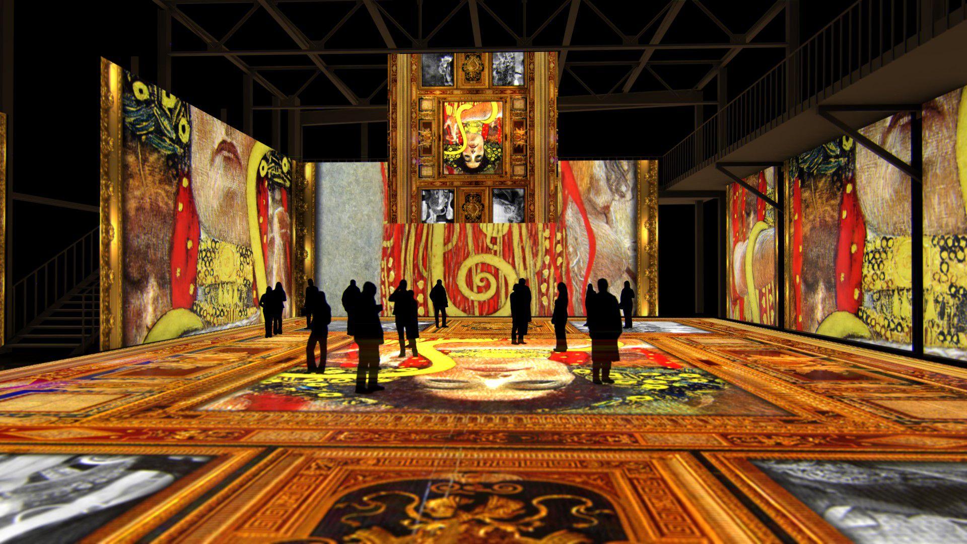 Мультимедийная выставка «Густав Климт. Золото модерна» фото 6