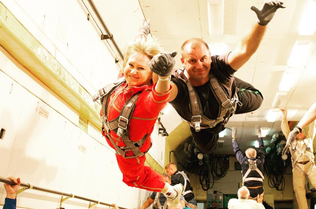 Полёт в невесомость с космонавтом фото 1