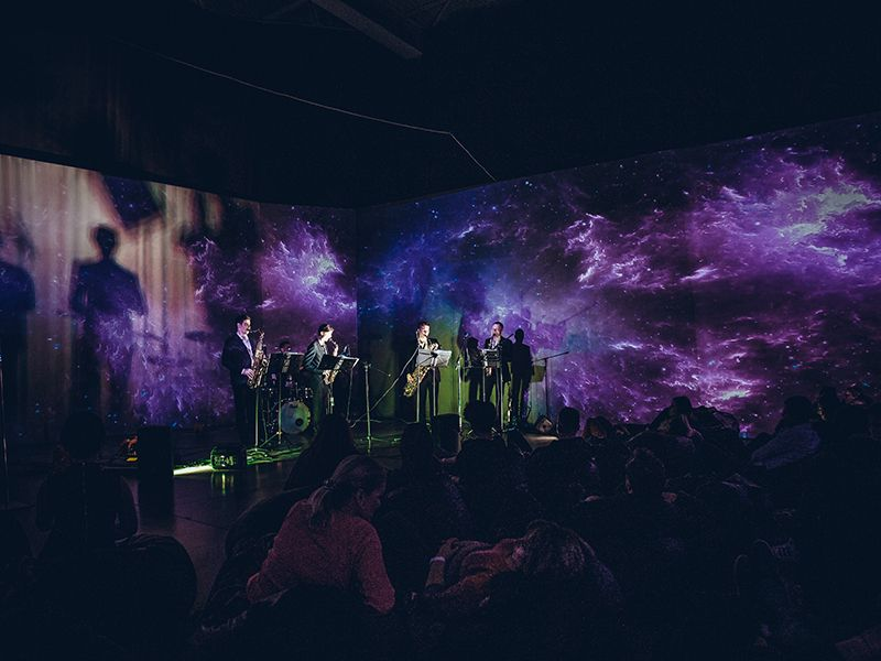 Концерт Afro Jazz группы Oudima в «Люмьер-Холле» фото 5
