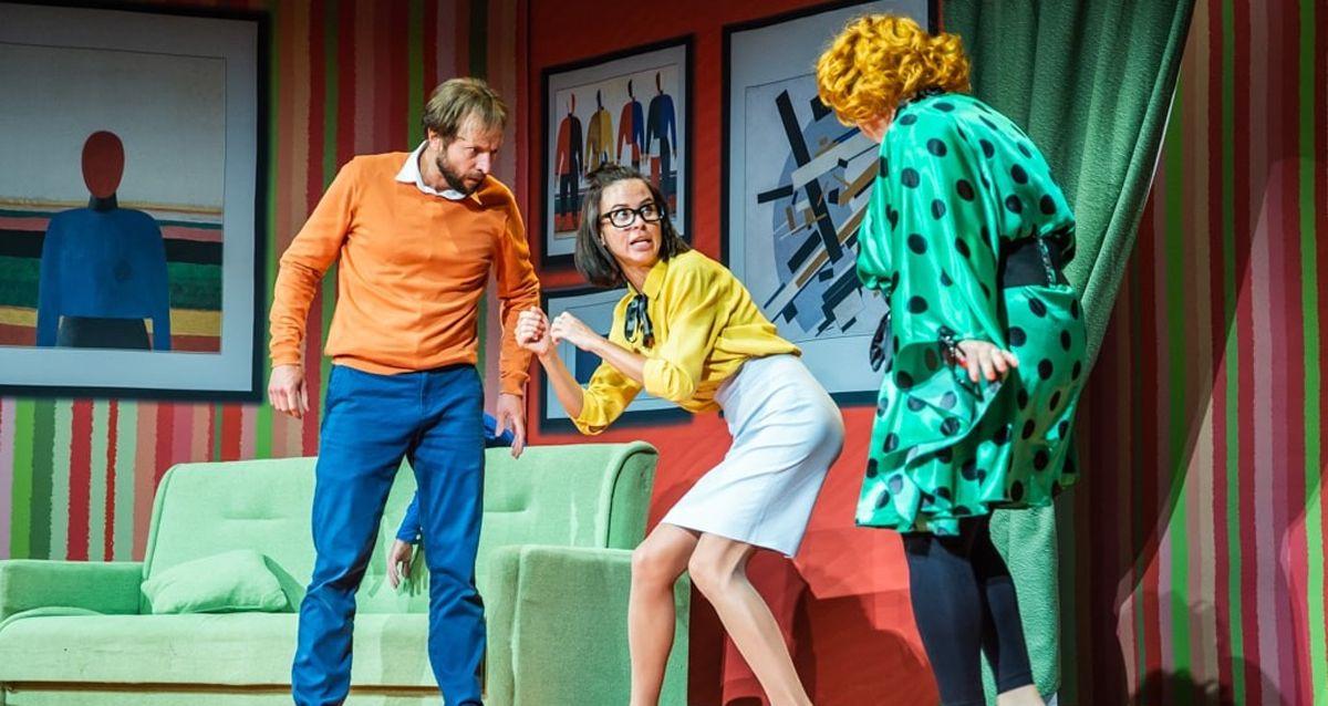 Билеты на комедию «Муж напрокат» в «Театриуме на Серпуховке» со скидкой 50% фото 1