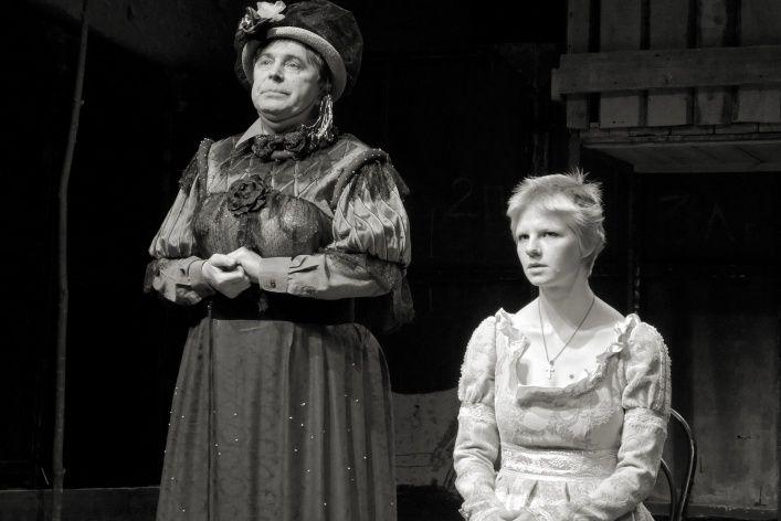 Спектакль «Нужна драматическая актриса (Лес)» в Театре «Около дома Станиславского» фото 1