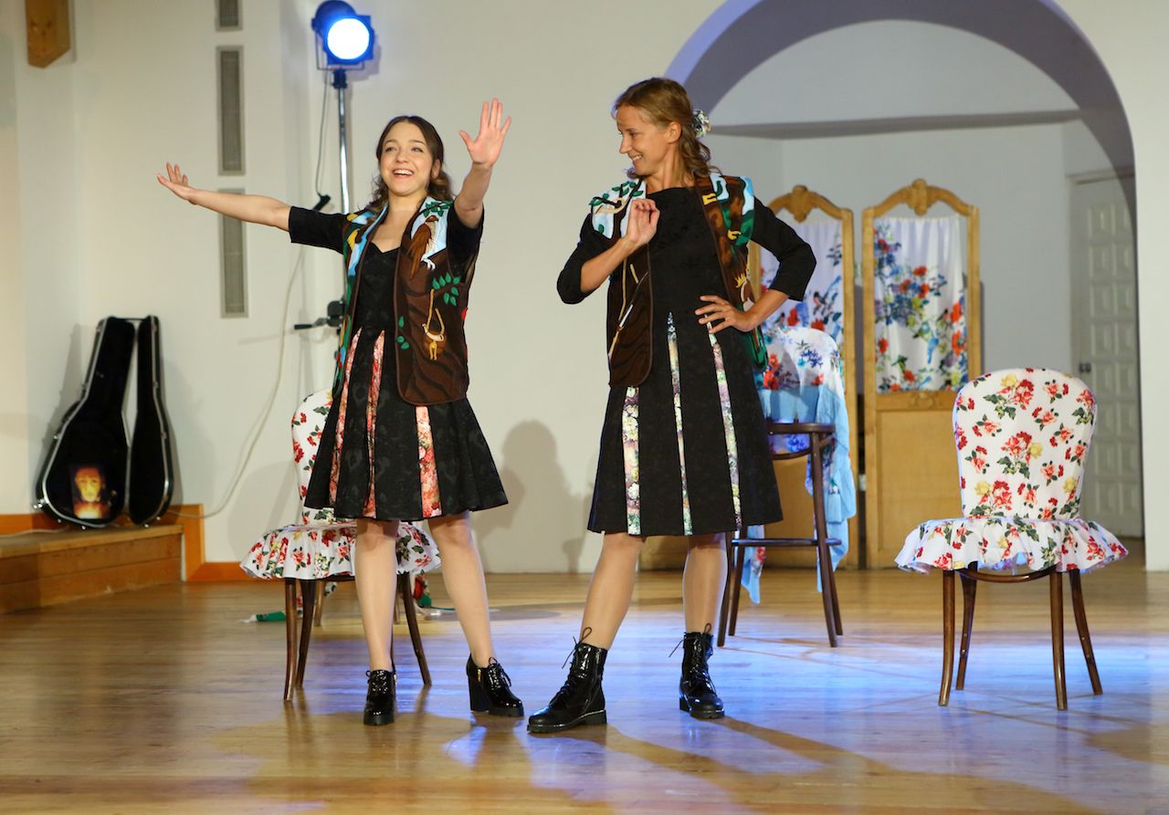 Спектакль «Граф Нулин» в Театре «Школа драматического искусства» фото 5