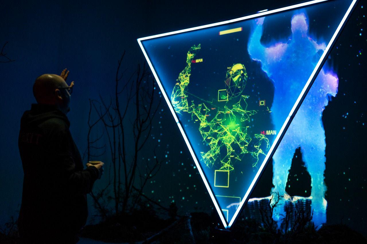 Интерактивная инсталляция Hi, Human в Центре современного искусства «МАРС»