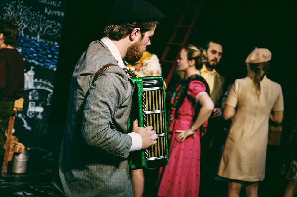 Спектакль «В день свадьбы» в Театре имени Маяковского фото 2