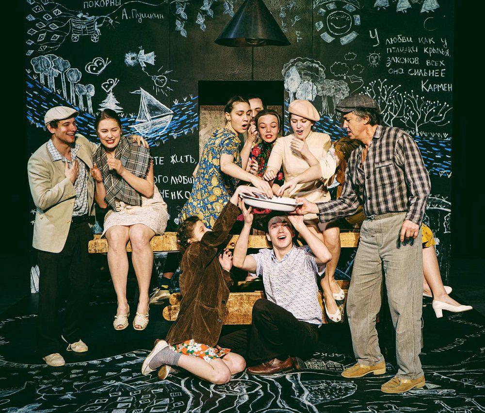 Спектакль «В день свадьбы» в Театре имени Маяковского фото 3