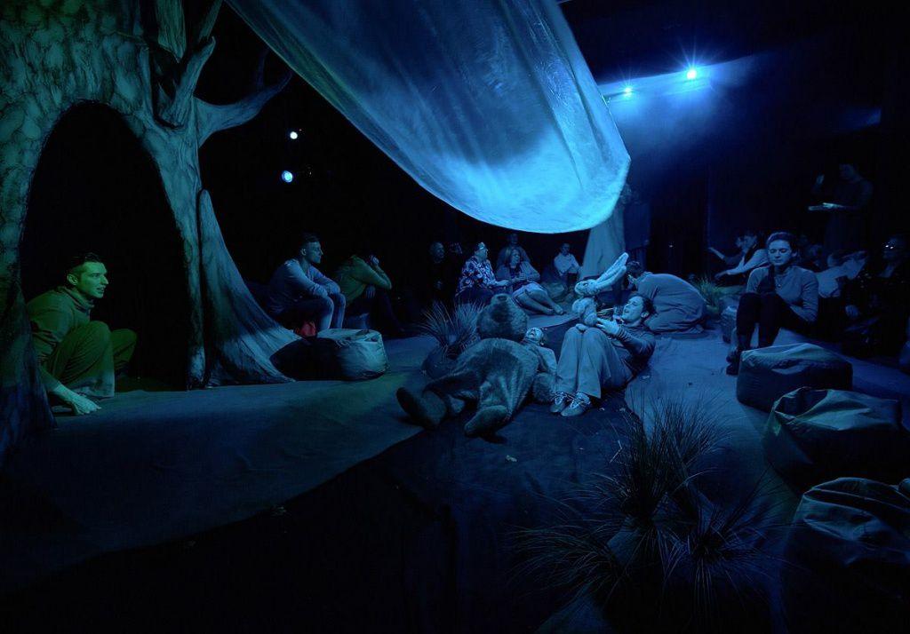 Спектакль «Ежик в тумане» в Московском театре кукол на Спартаковской фото 2