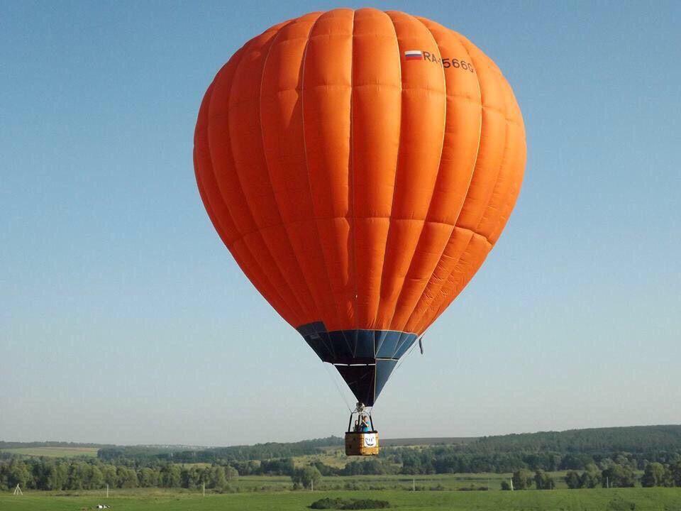 Индивидуальный классический полёт для 2-х человек на воздушном шаре фото 3