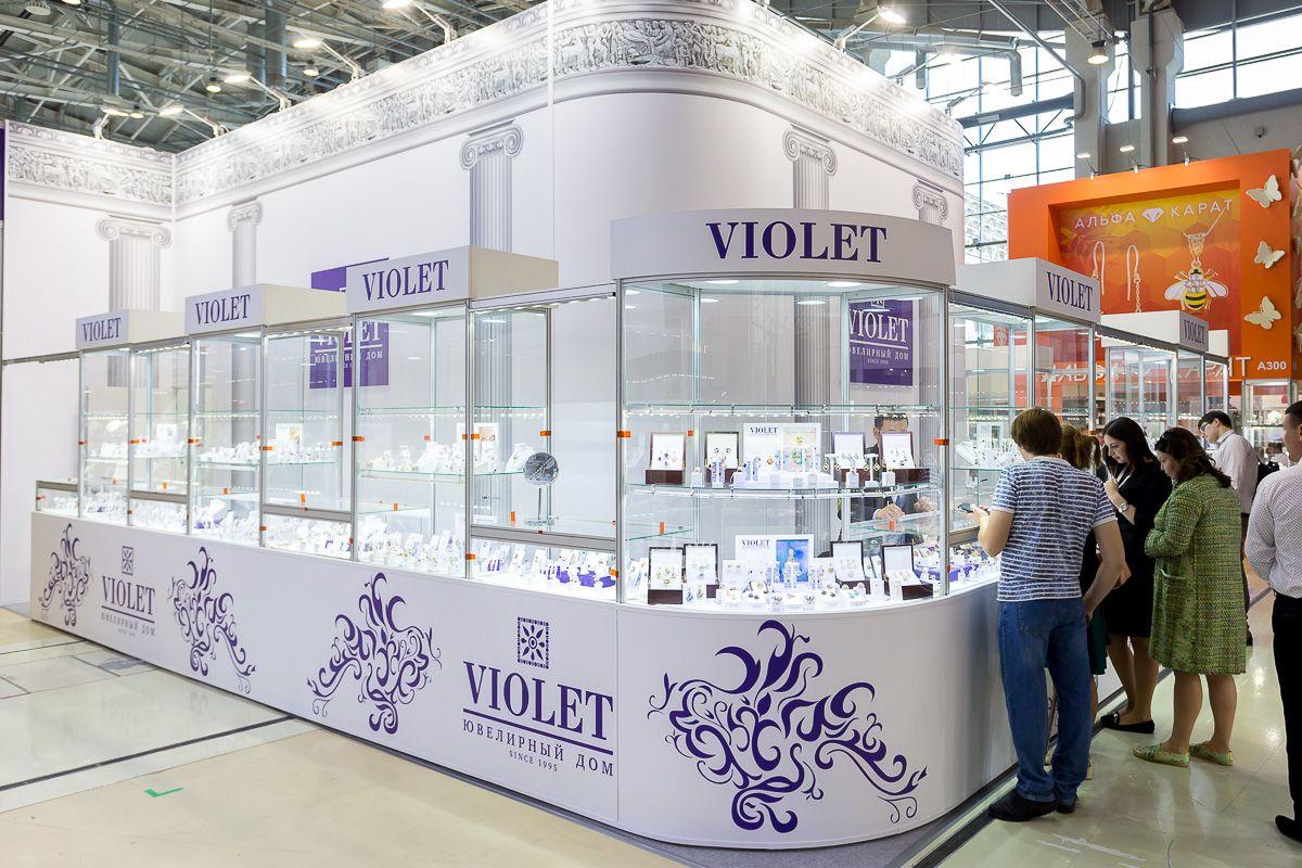 Ювелирная выставка «JUNWEX Москва» на ВДНХ
