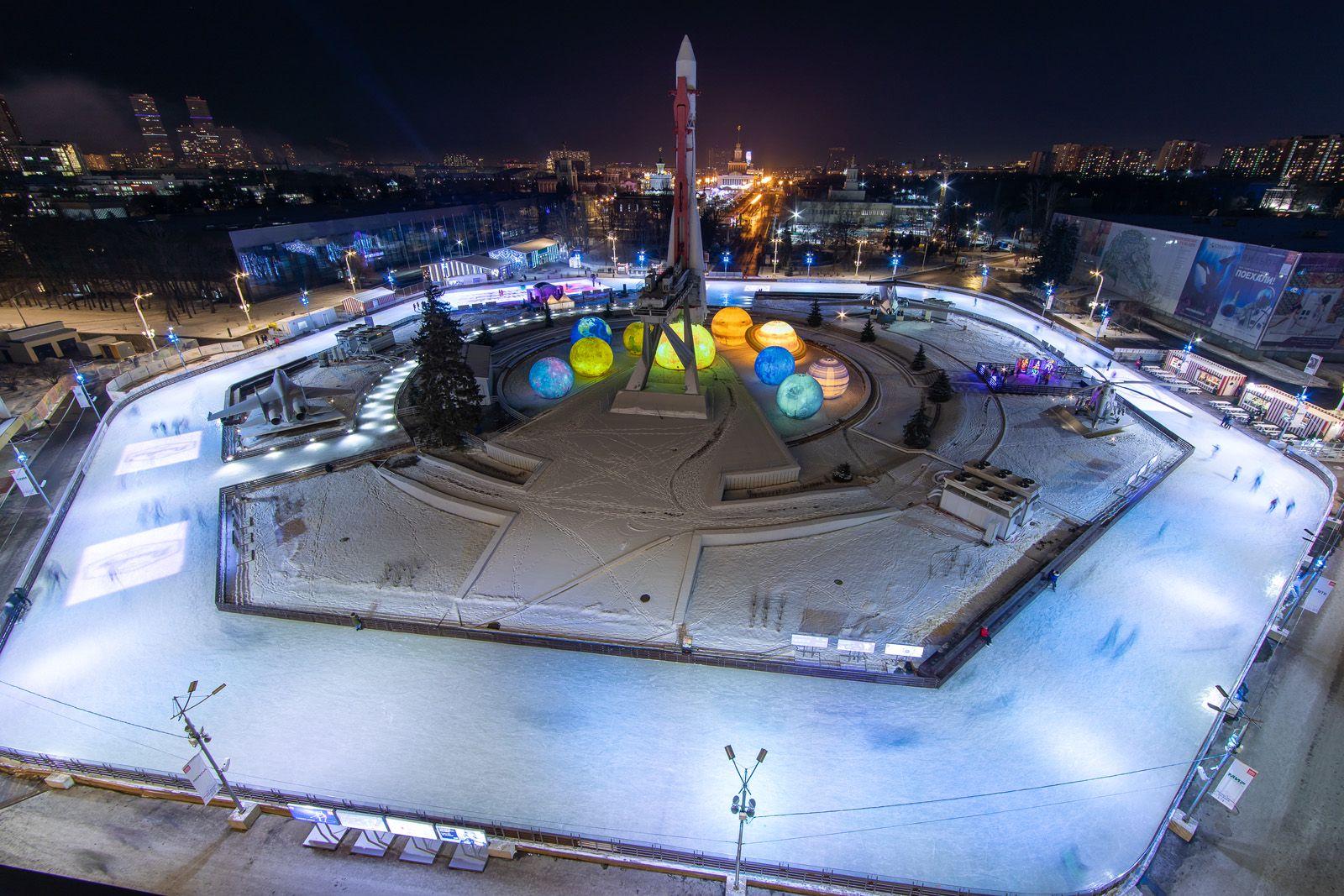Город зимы на ВДНХ фото 6