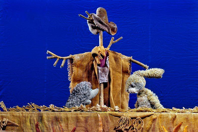 Спектакль «Хитрый Ежик» в театре кукол им. С.В. Образцова фото 3