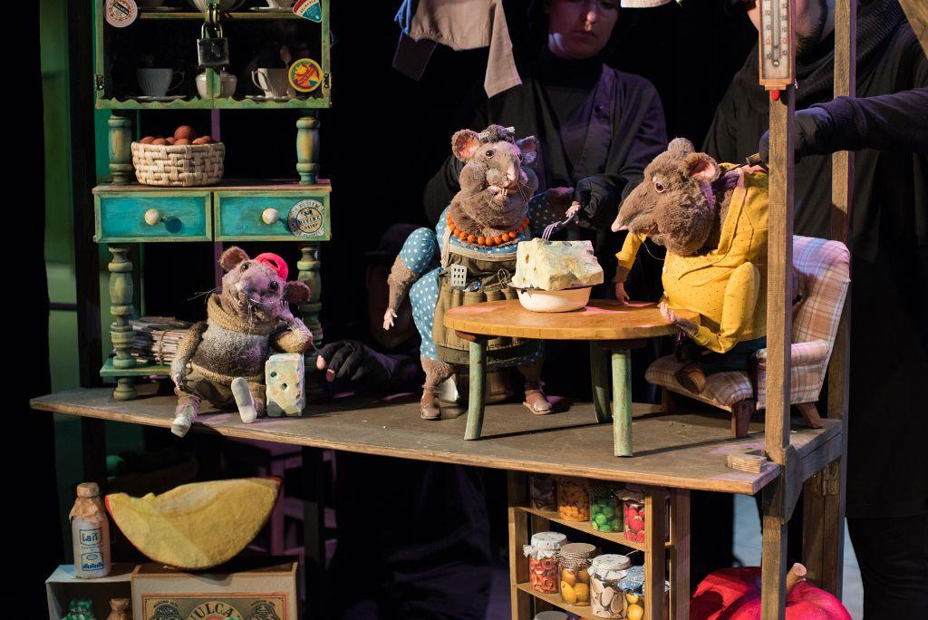 Спектакль «Все мыши любят сыр» в Московском театре кукол на Спартаковской фото 5