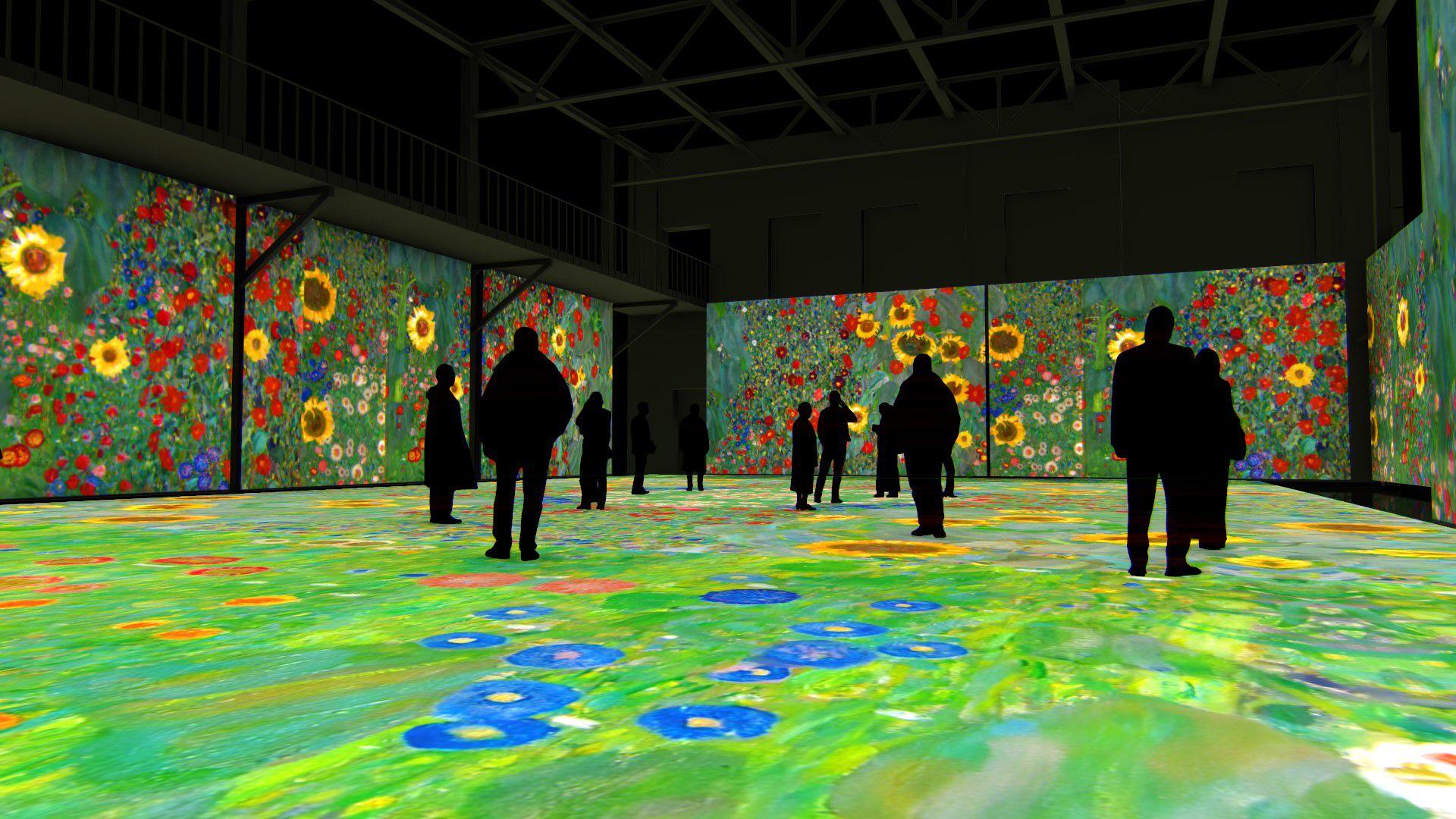 Мультимедийная выставка «Густав Климт. Золото модерна» фото 5