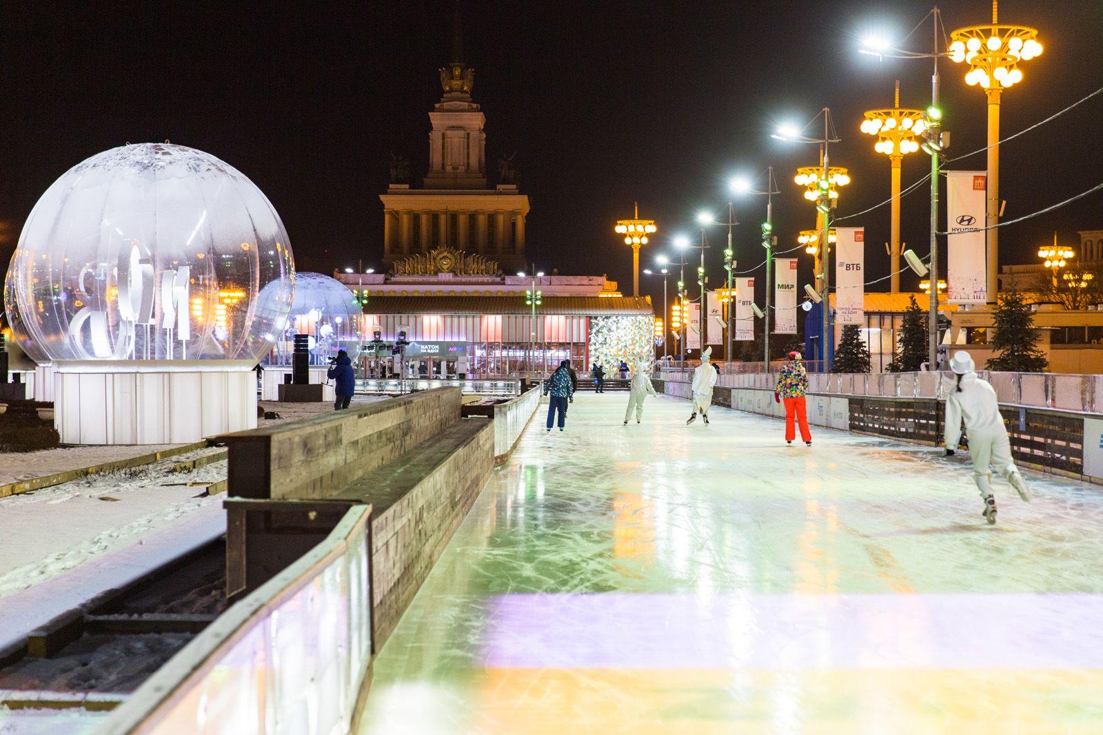Город зимы на ВДНХ фото 3