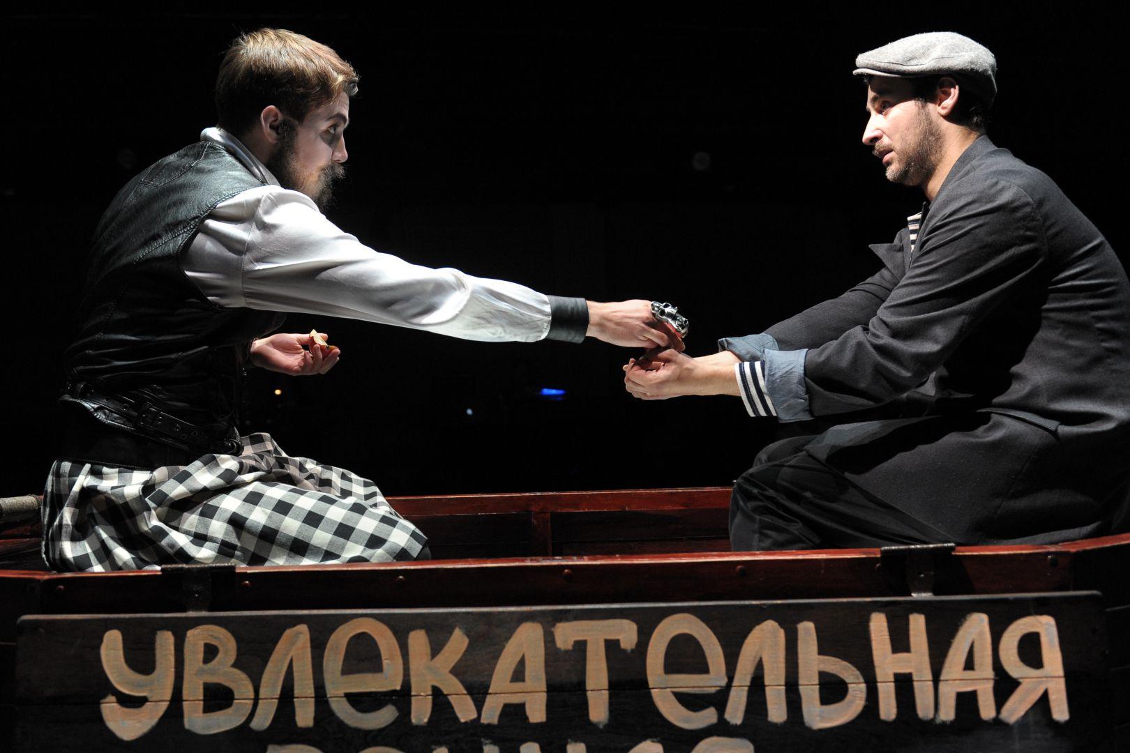 Спектакль «Лодочник» в Театре «Et Cetera» фото 6