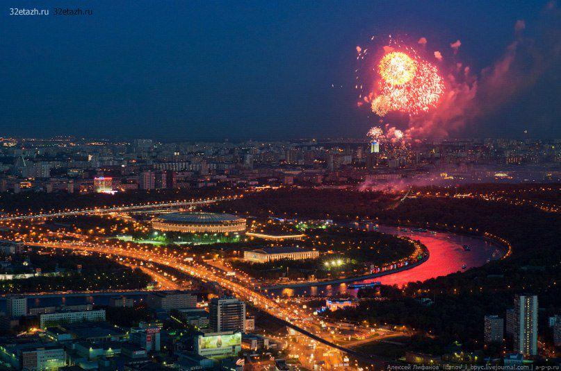 Просмотр салюта на 9 Мая с 90-го этажа «Москва-Сити» фото 4