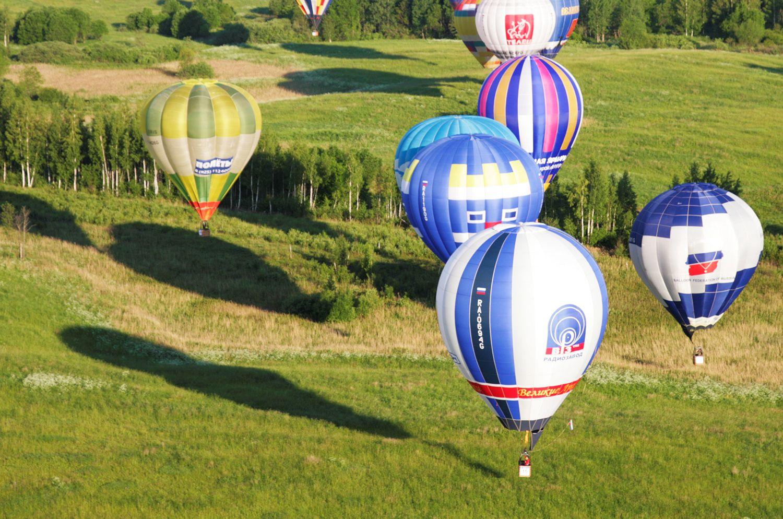 Индивидуальный полёт на воздушном шаре фото 2