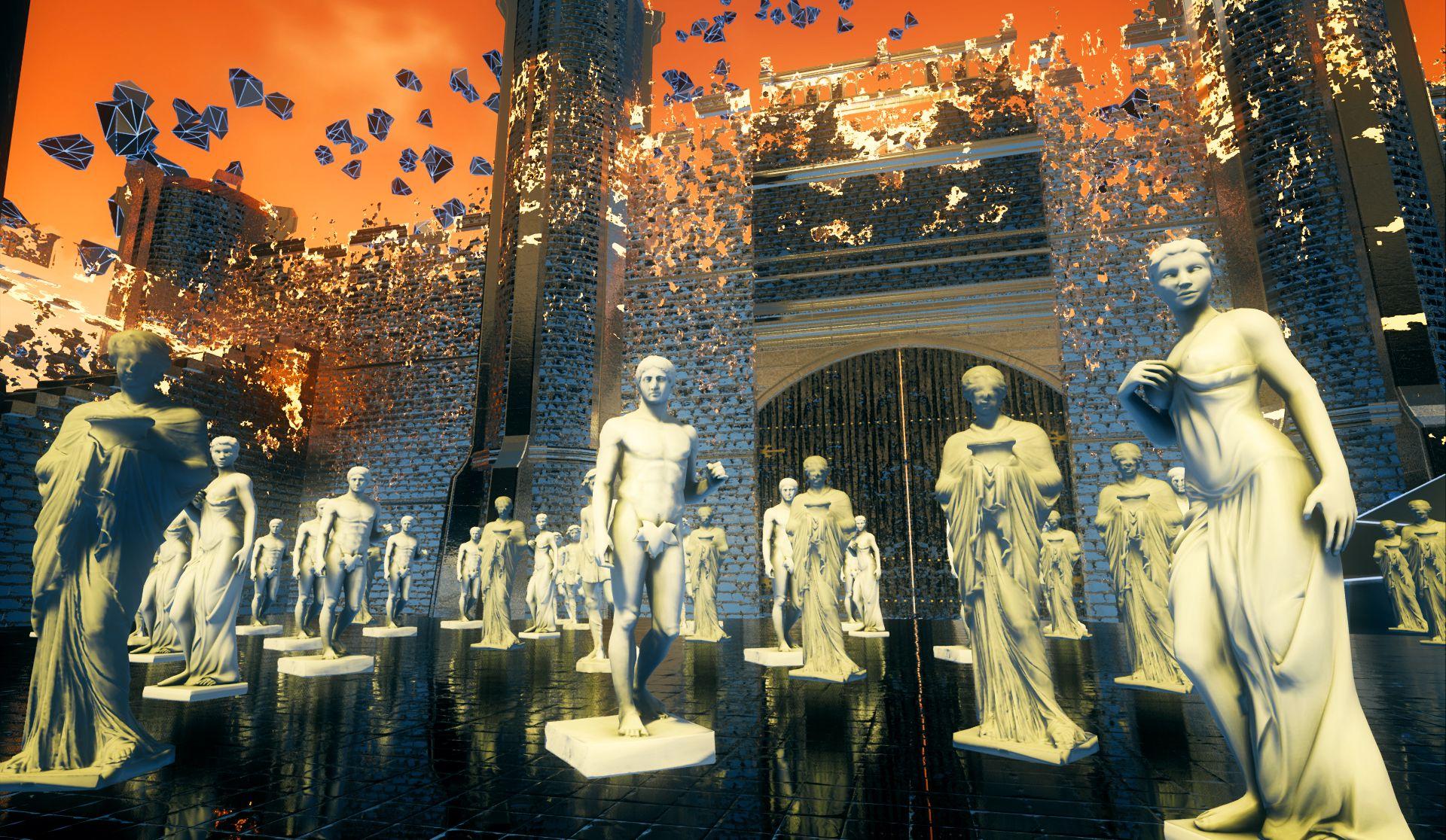 Иммерсивная выставка в виртуальном пространстве «Я» фото 3