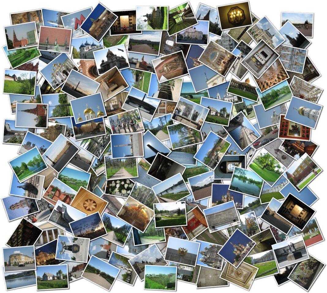 сделать с двух фото одно онлайн