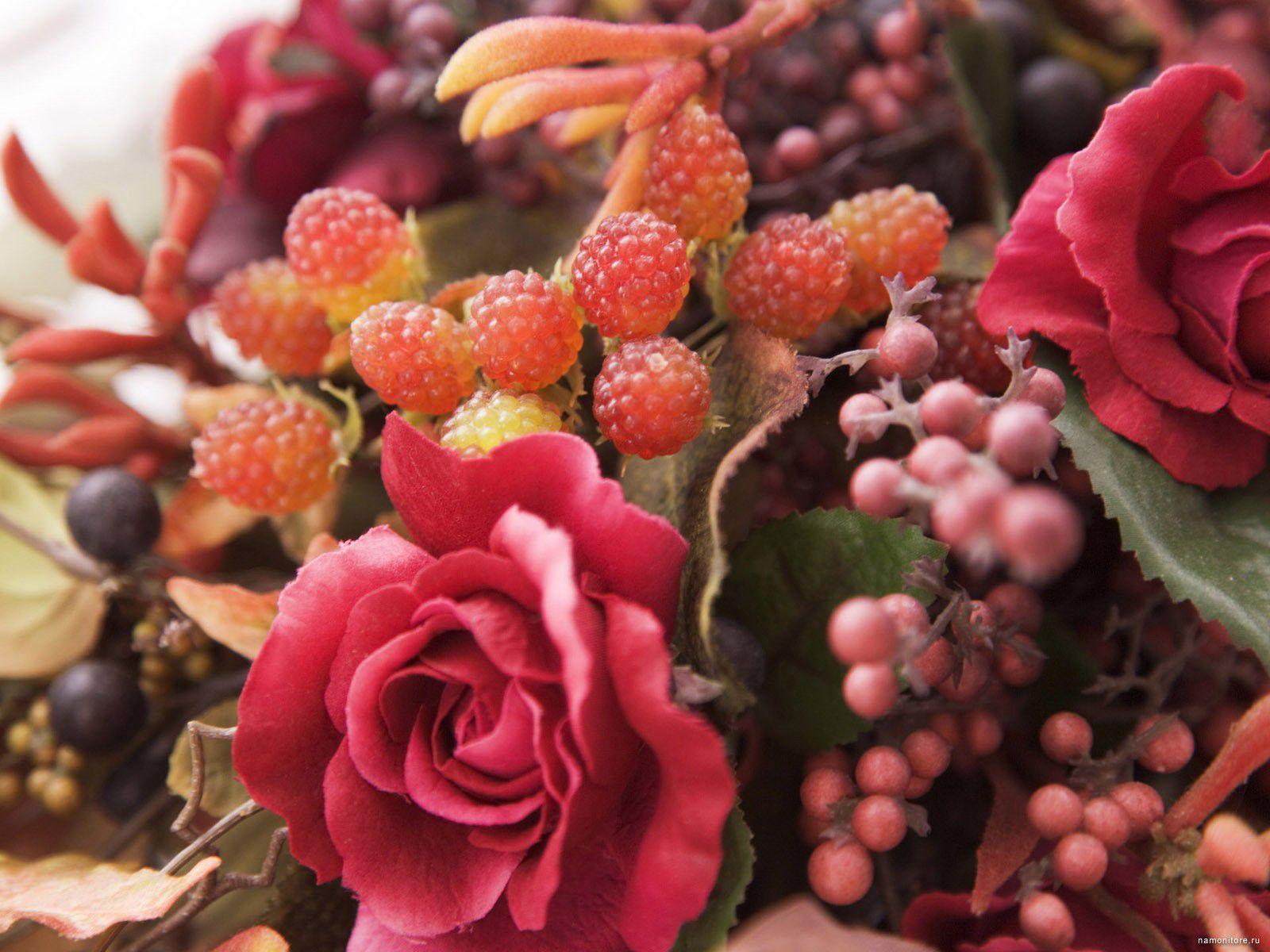 пятнадцать минут букет из ягод и цветов картинки красивые соединении звездой