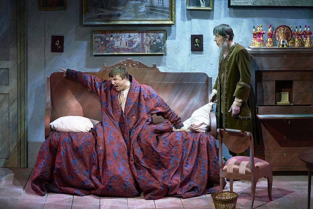 Спектакль «Обломов» в Театре Маяковского фото 4