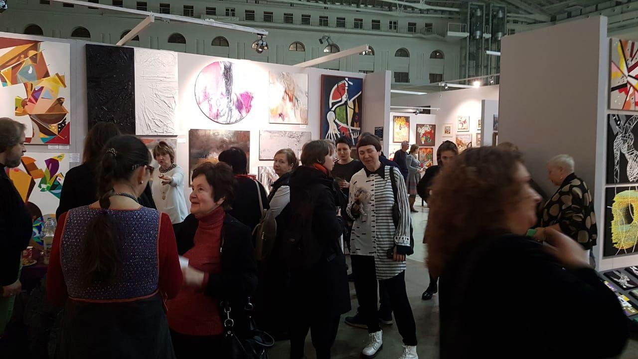 Московская художественная ярмарка фото 9