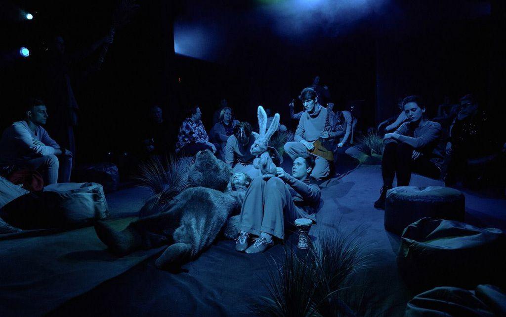 Спектакль «Ежик в тумане» в Московском театре кукол на Спартаковской фото 3
