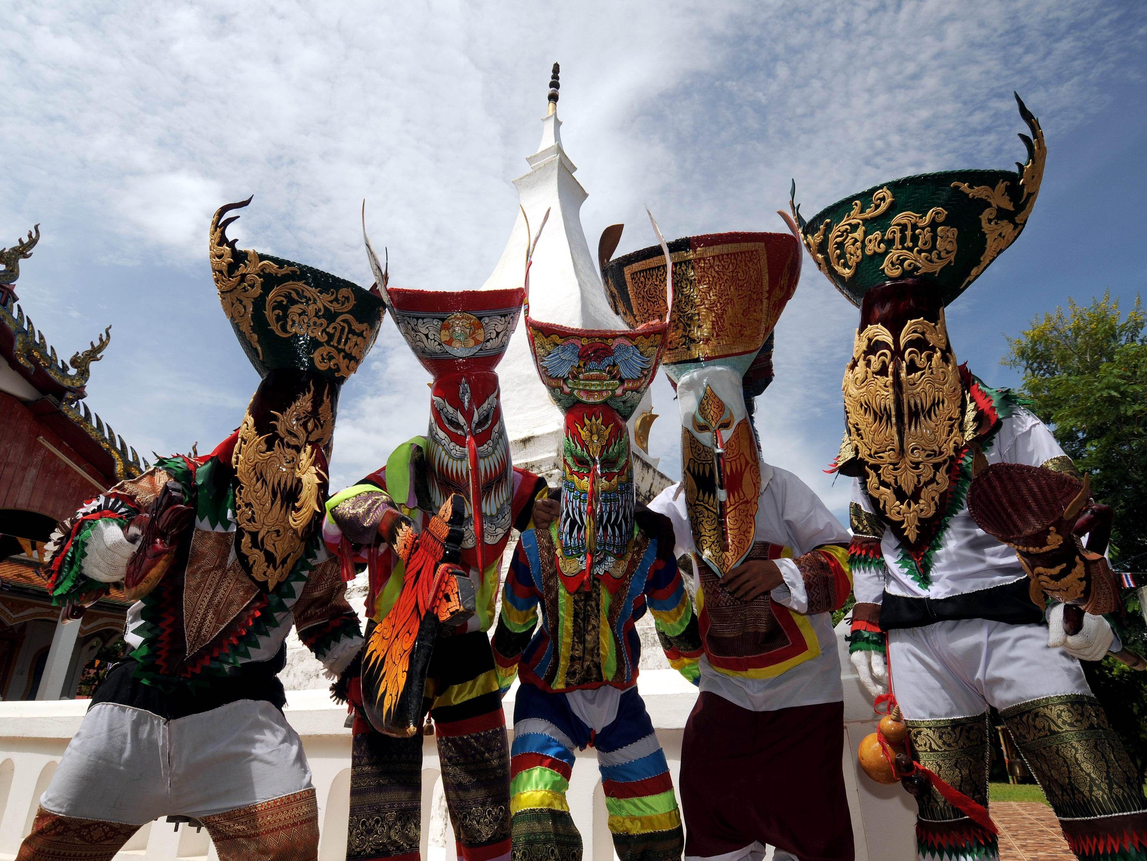 Тайский фестиваль фото 1