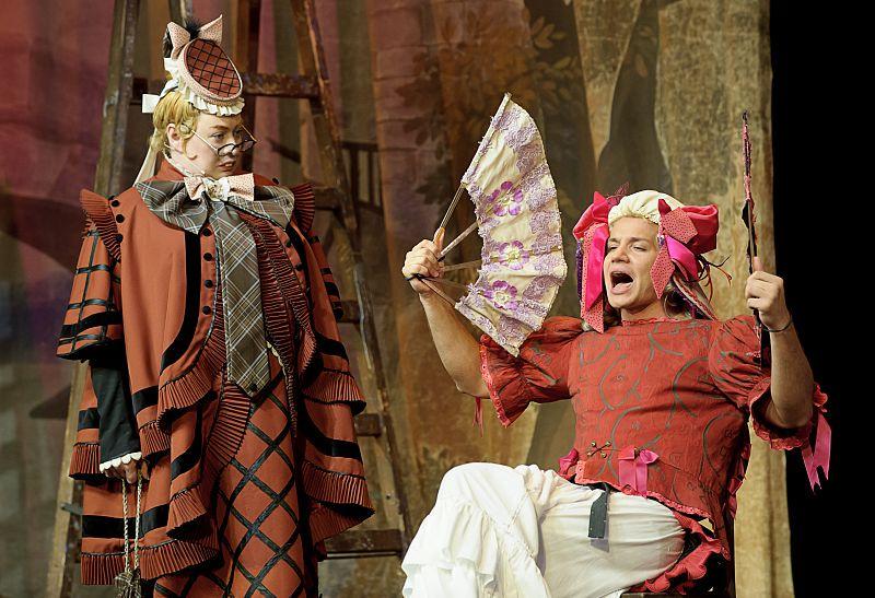 Спектакль «Мадемуазель Нитуш» в Театре им. Вахтангова фото 1