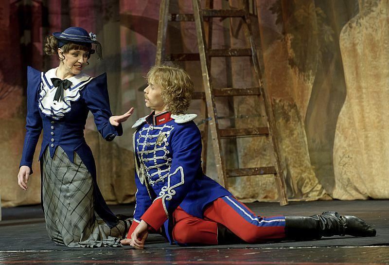 Спектакль «Мадемуазель Нитуш» в Театре им. Вахтангова фото 3