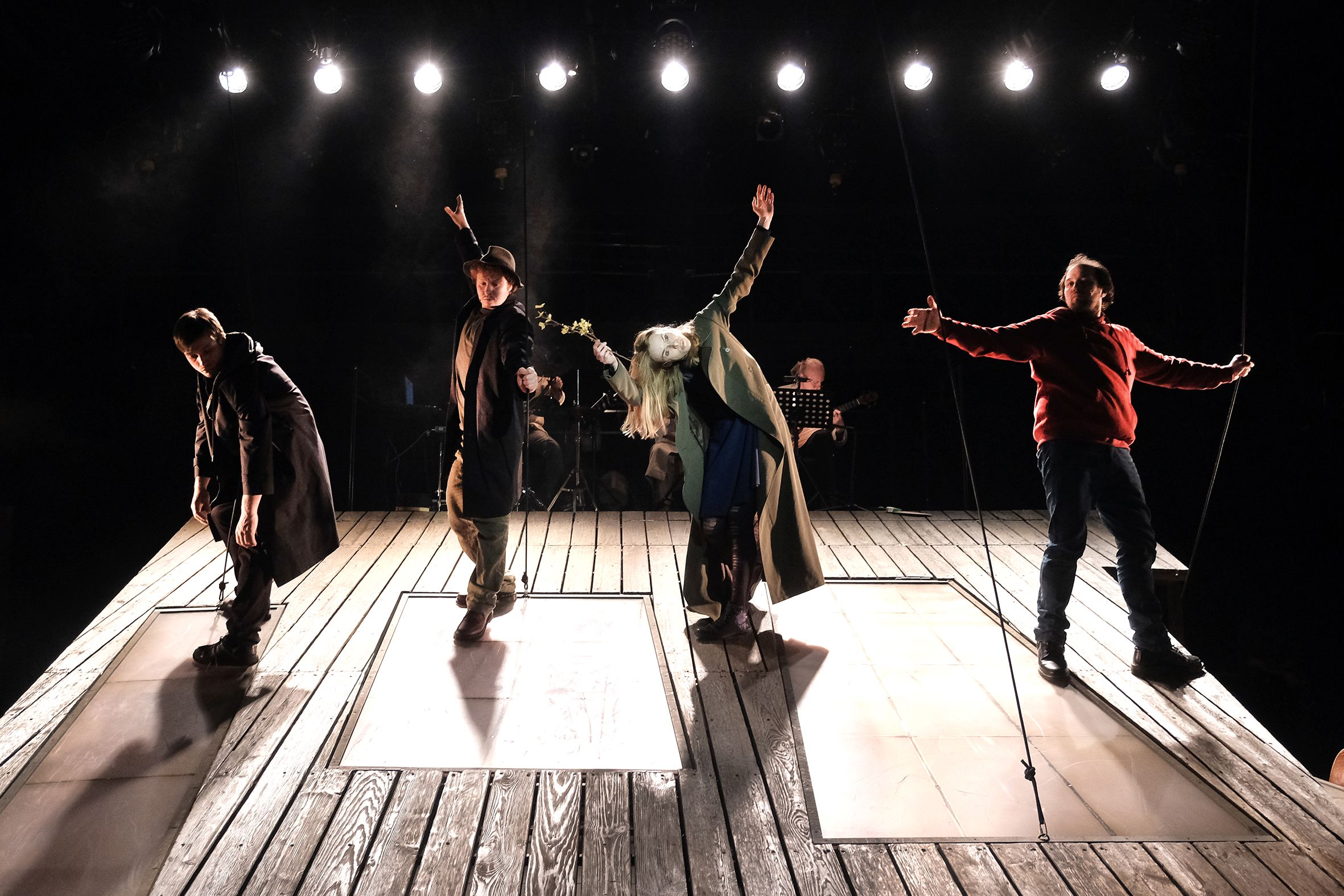Спектакль «#Осторожнобасни» в Театре Et Cetera фото 3