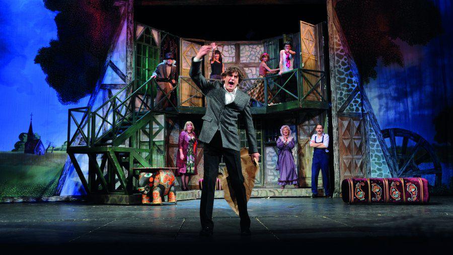 Спектакль «Шум за сценой» в Театре им. Моссовета фото 1