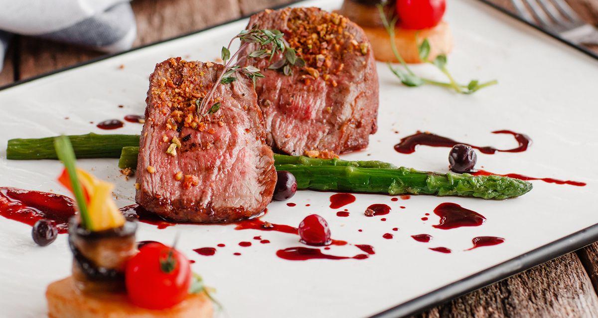 Скидка 50% на ужин для двоих на 75-м этаже «Москвы-Сити» фото 1