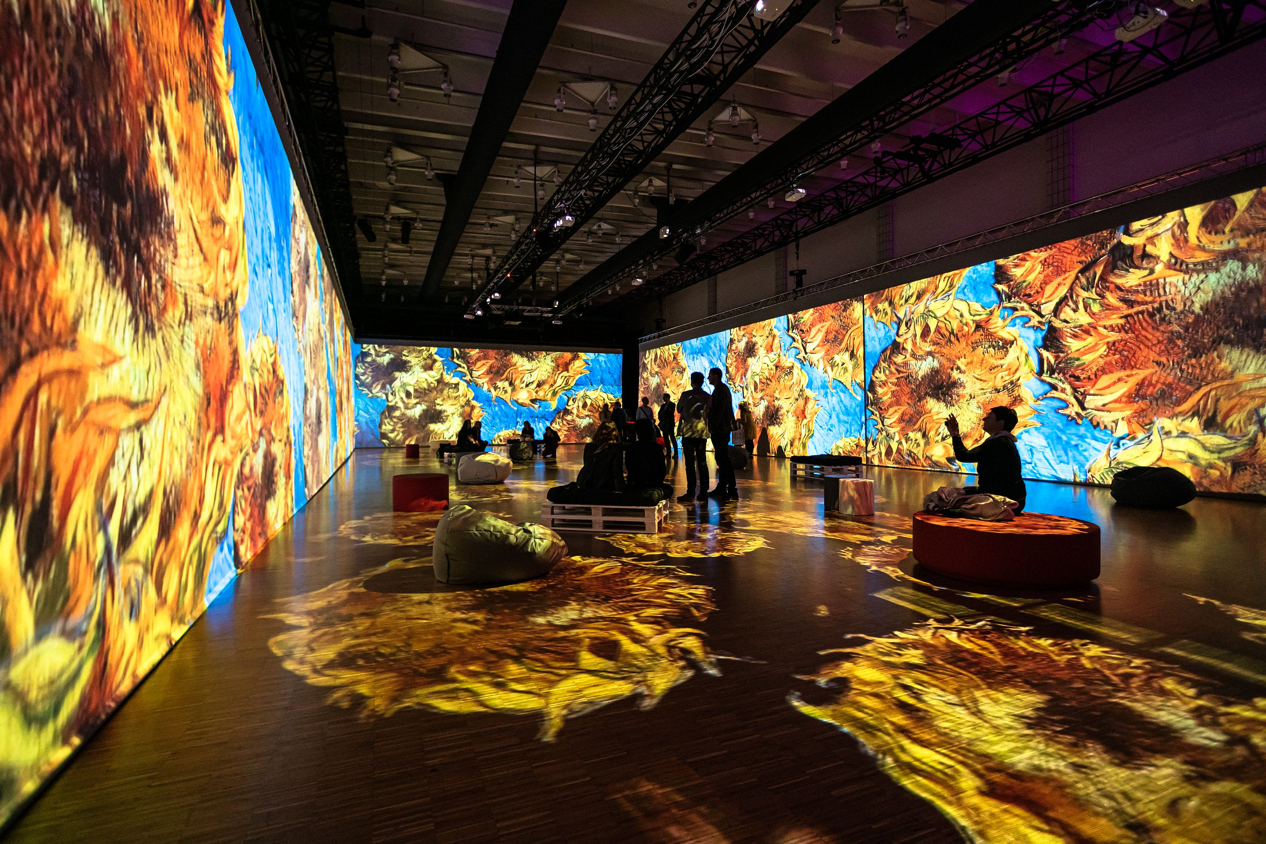 Мультимедийная выставка «Моне — Ван Гог — Кандинский. Революция в искусстве» фото 1