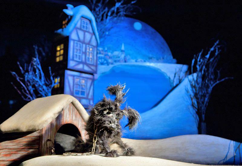 Спектакль «Снеговик» в Театре кукол им. С. В. Образцова фото 2