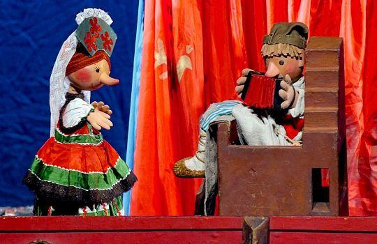 Спектакль «По щучьему велению» Е. Тараховской в театре Образцова фото 4