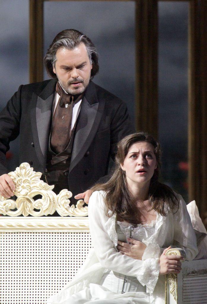 Опера «Травиата» в Большом театре фото 4