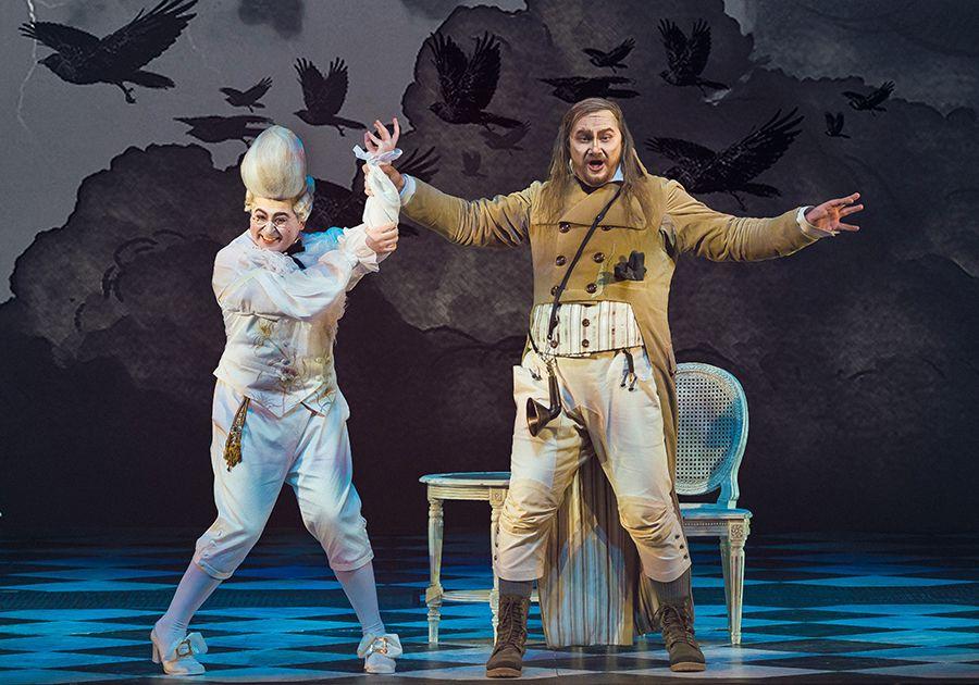 Опера «Севильский цирюльник» в Большом театре фото 6