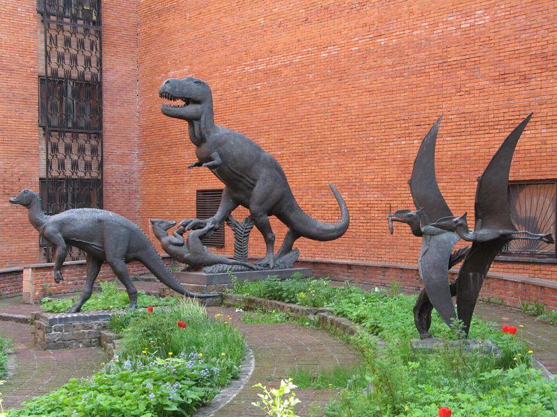 Постоянная экспозиция Палеонтологического музея фото 3