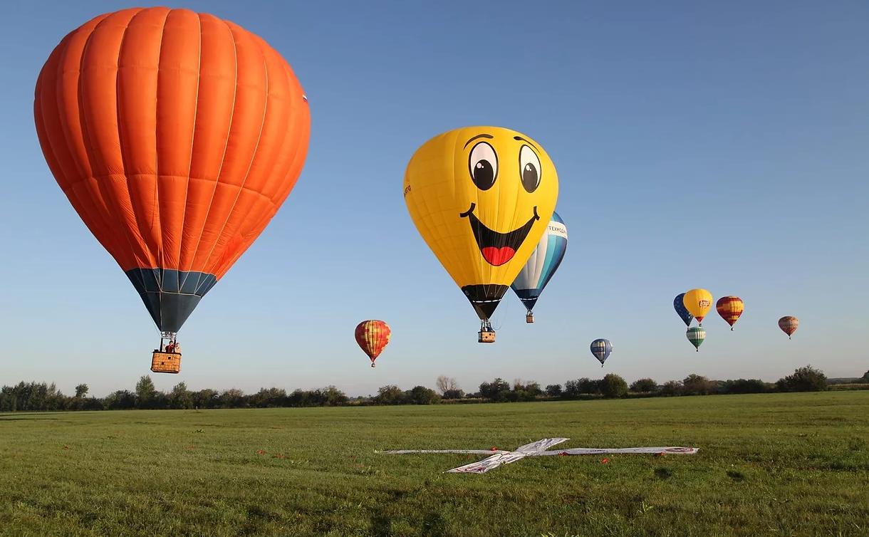 Индивидуальный классический полёт для 2-х человек на воздушном шаре фото 1