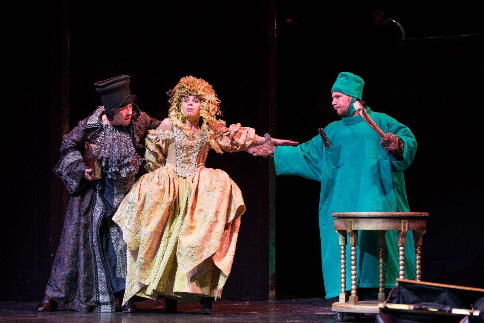 Спектакли «Плутни Скапена» и «Лекарь поневоле» в театре «Сатирикон» фото 4