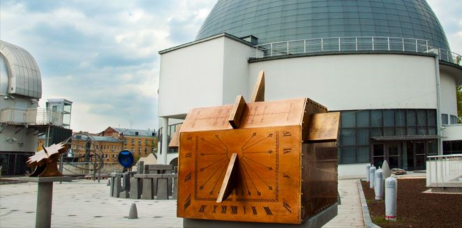 Экспозиция «Парк неба» в Московском Планетарии фото 4
