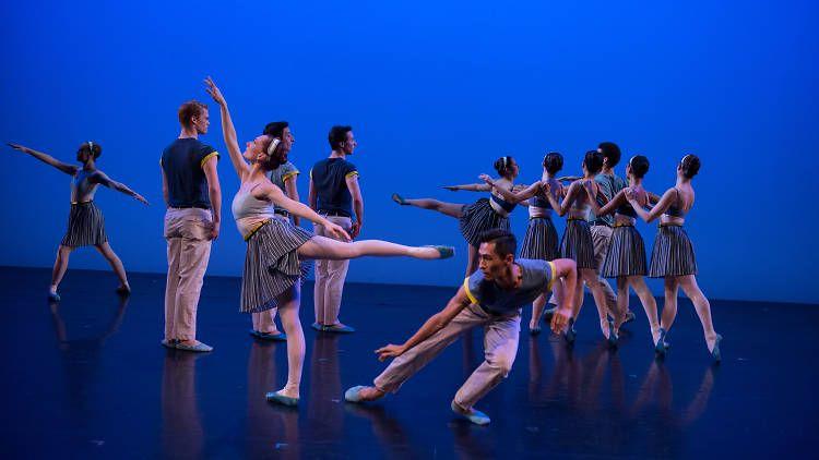 Онлайн-показ спектакля «Двойное анданте» в постановке New York Theatre Ballet фото 1